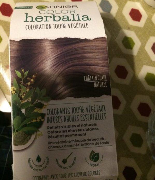 garnier color herbaliaのパッケージ