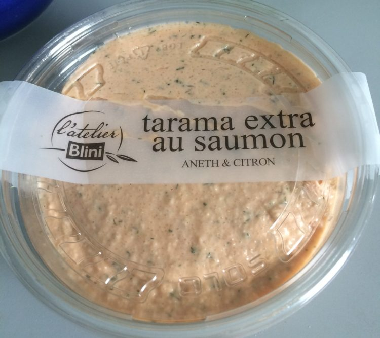 フランスでたらこパスタを作る際のtarama extra