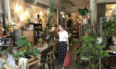 パリのコンセプトストアles fleursの店内
