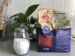 bicarbonate de soude重曹の入れ物