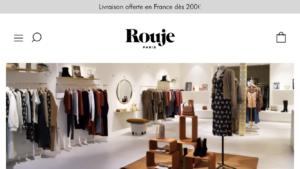 フランスでおススメのファッションブランドrouje