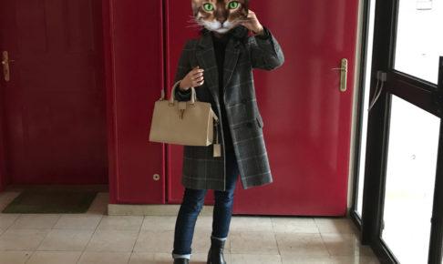 パリの服装 1月