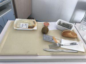 フランスの病院食
