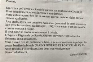フランスのコロナ対策 9月19日